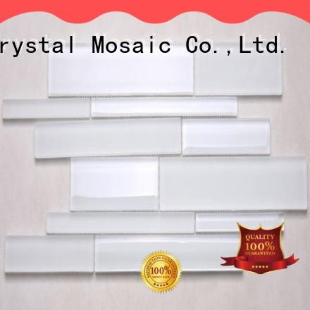 Heng Xing grey white glass tile supplier for villa