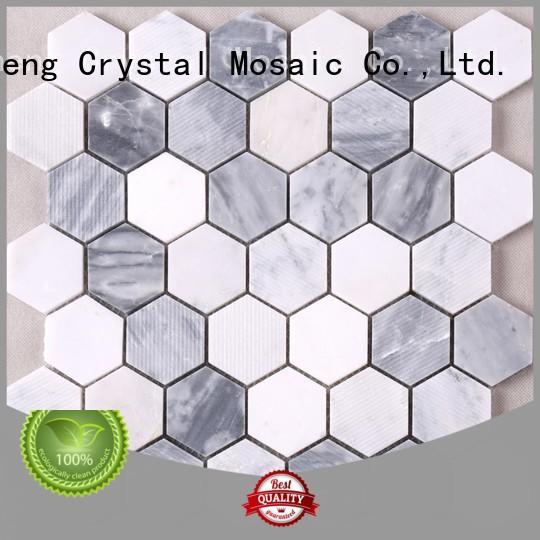 Heng Xing durable mosaic glass tile tile for backsplash