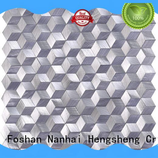 High-quality porcelain mosaic tile grey Supply for villa