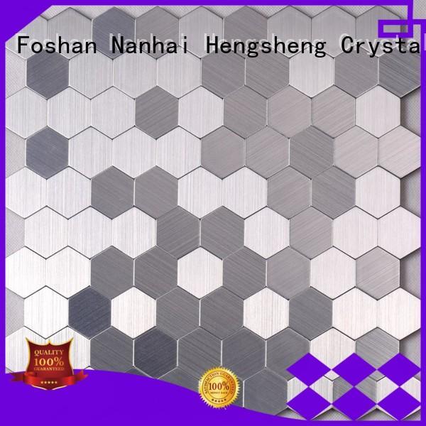 Heng Xing beveled metal tiles for business for restuarant