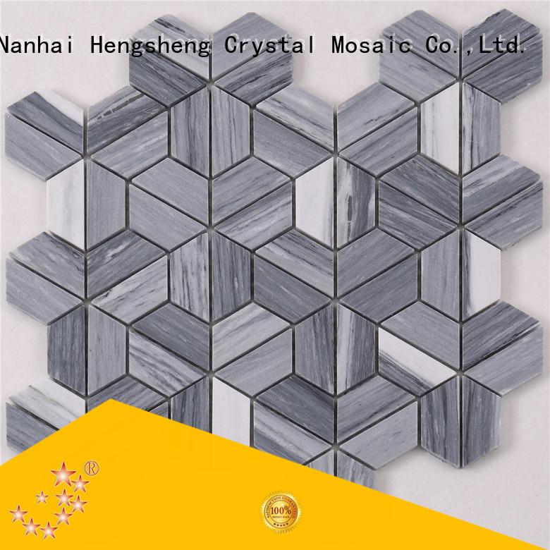 Heng Xing Latest stone mosaic inquire now for backsplash