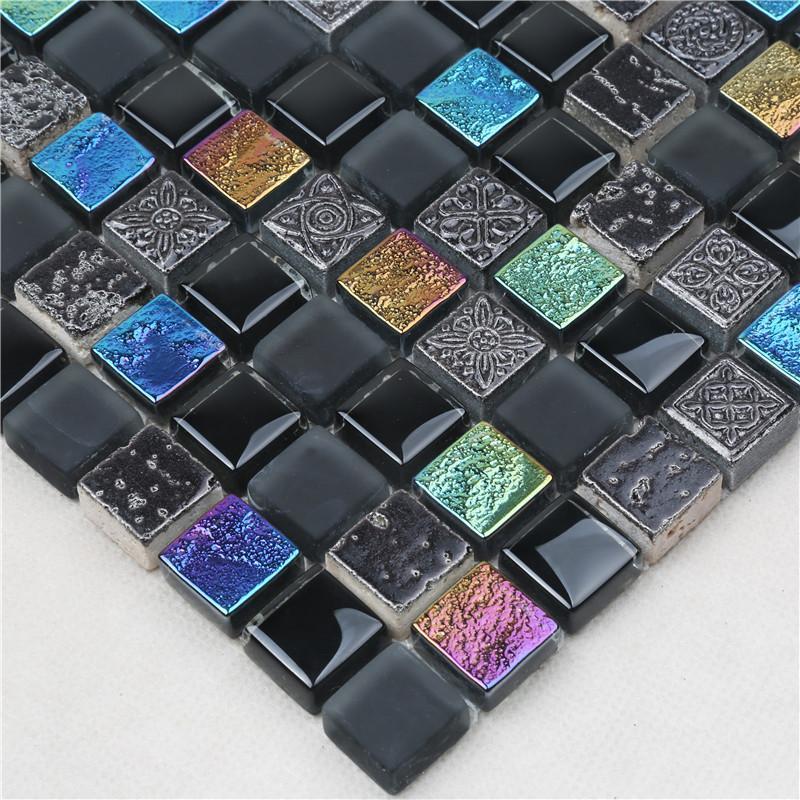 Heng Xing herringbone mosaic floor tiles Suppliers for villa-3