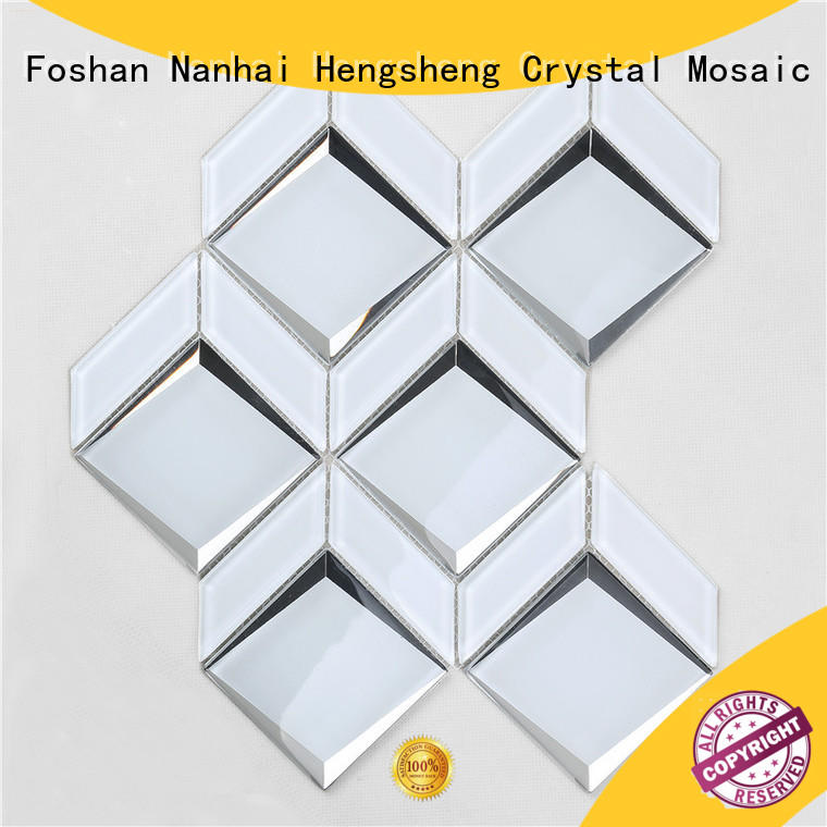 Heng Xing tile mother of pearl glass tiles company