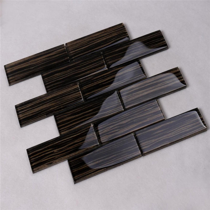 Heng Xing sand linear mosaic tile personalized for villa-2