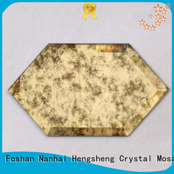 Top square mosaic tiles simple factory price for living room