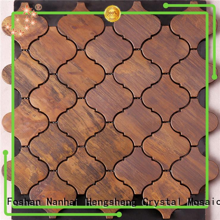 Top mosaic floor tiles glass Suppliers for villa