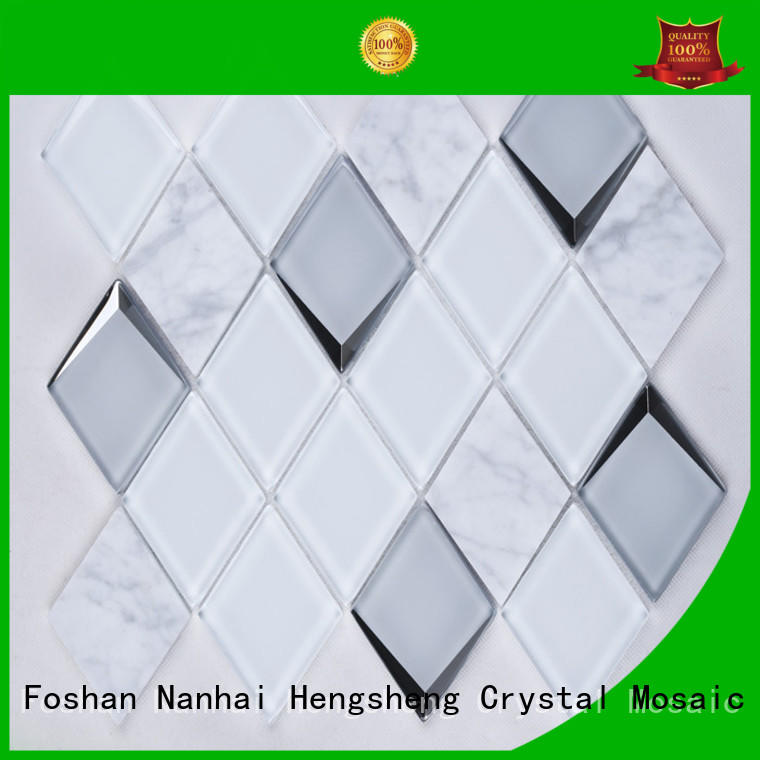 Heng Xing Custom pebble mosaic tile factory