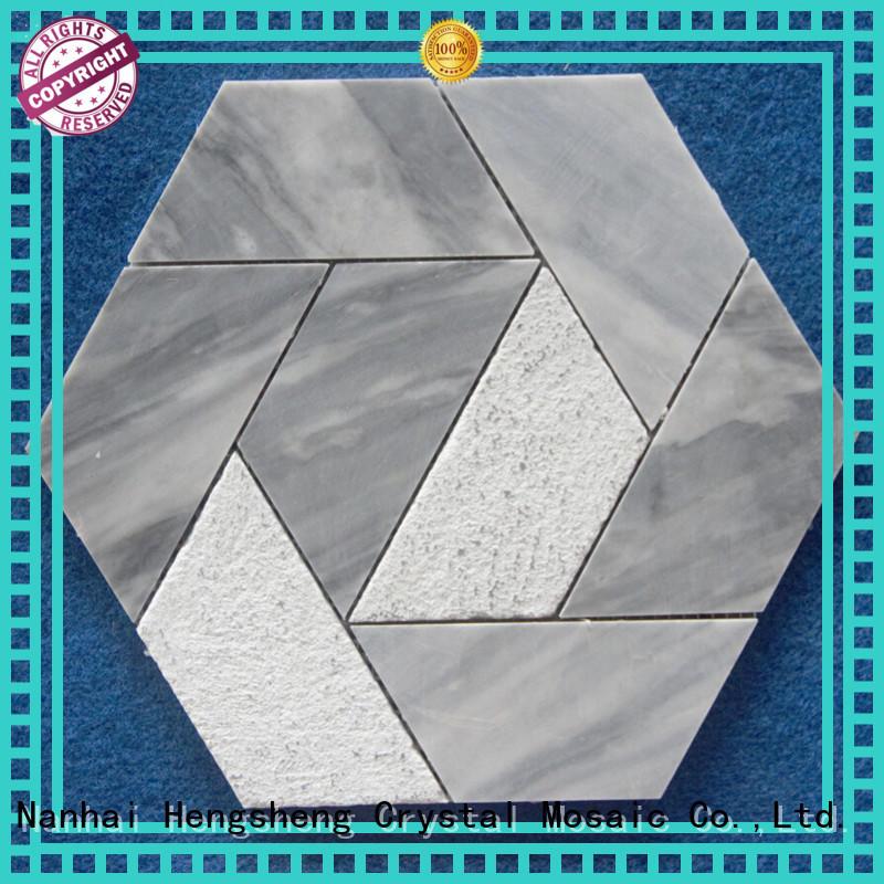 2x2 slate mosaic tile floor Suppliers for living room