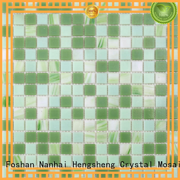 blue swimming pool floor tiles personalized for bathroom Heng Xing