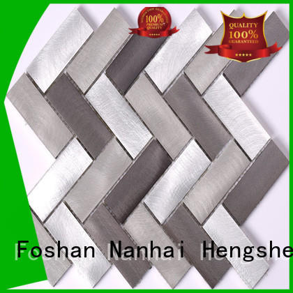 Heng Xing New glass mosaic hs code in pakistan Suppliers for kitchen