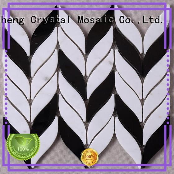 Heng Xing beautiful marble tiles herringbone design for villa