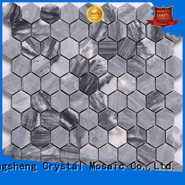 Heng Xing golden gray mosaic tile inquire now for kitchen