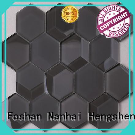 Heng Xing interlock matte hexagon floor tile Supply for kitchen