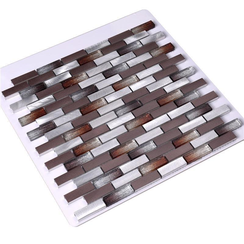 Heng Xing Custom mosaic glass tiles customized for living room-2