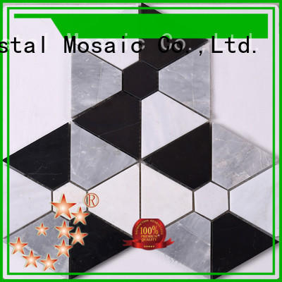 Heng Xing 3x3 mosaic stones factory for hotel