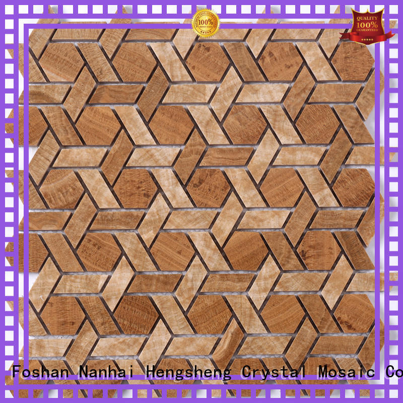 Heng Xing Best carrara mosaic tile design for bathroom