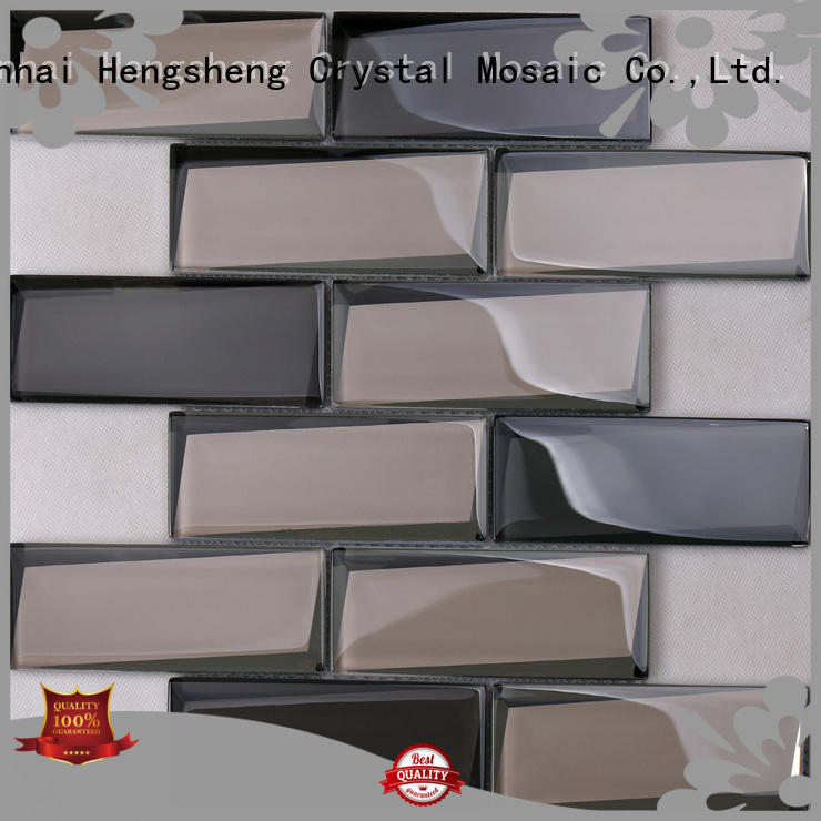 Latest glass subway tile spray Suppliers for villa