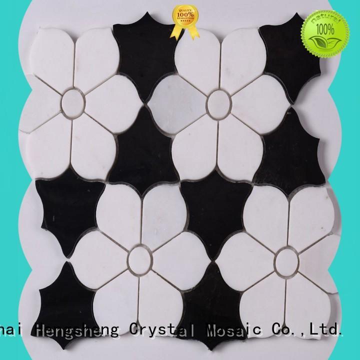durable tiendas de mosaic glass en eeuu hexagon customized for villa