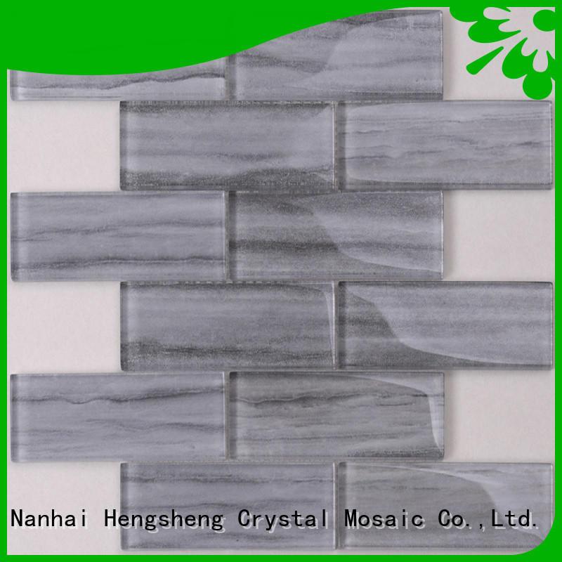 Heng Xing white ceramic tile remnants factory for villa