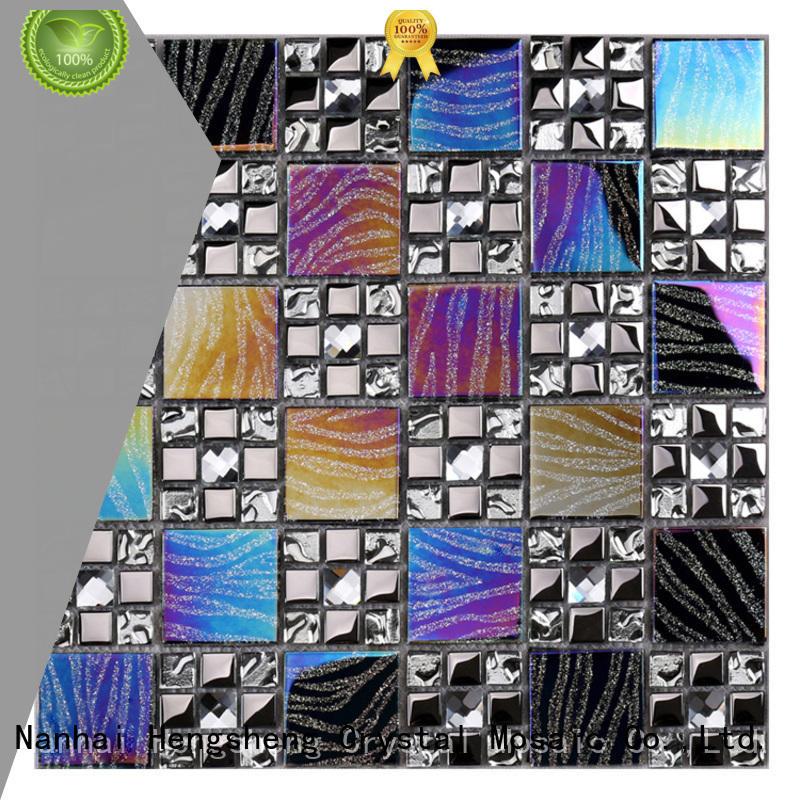 Heng Xing mosaic glass mosaic manufacturers series for backsplash