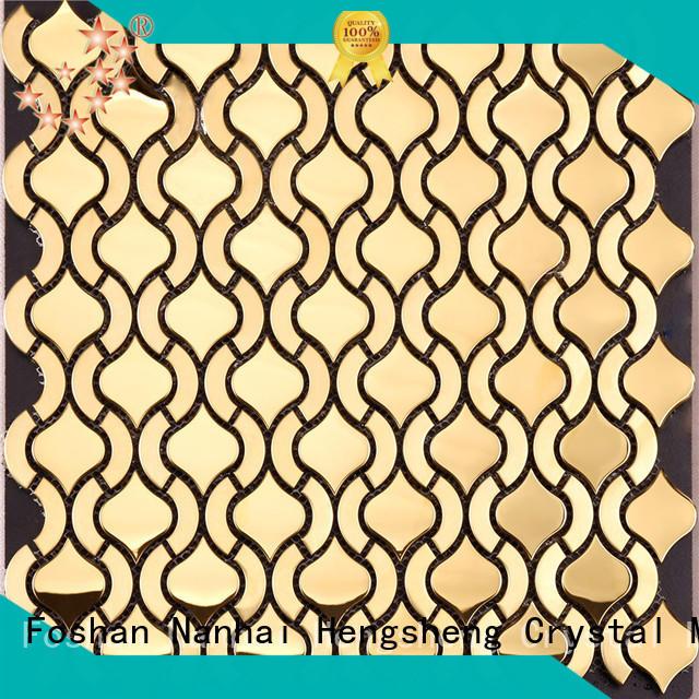 decorative metal tiles cube for villa Heng Xing