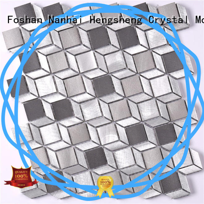 professional metal wall tiles aluminum from China for restuarant