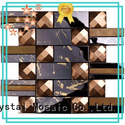 Heng Xing cube metal mosaic tile series for bathroom