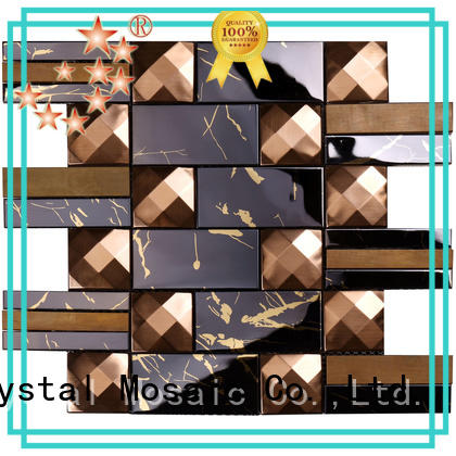 Heng Xing cube metal mosaic tile series for bathroom