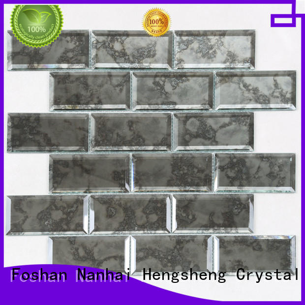 Top glass and slate mosaic tile decor supplier for kitchen