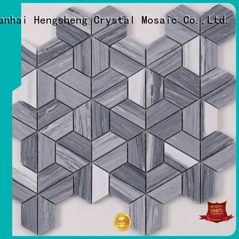 Heng Xing Latest glass pool tile for business for kitchen