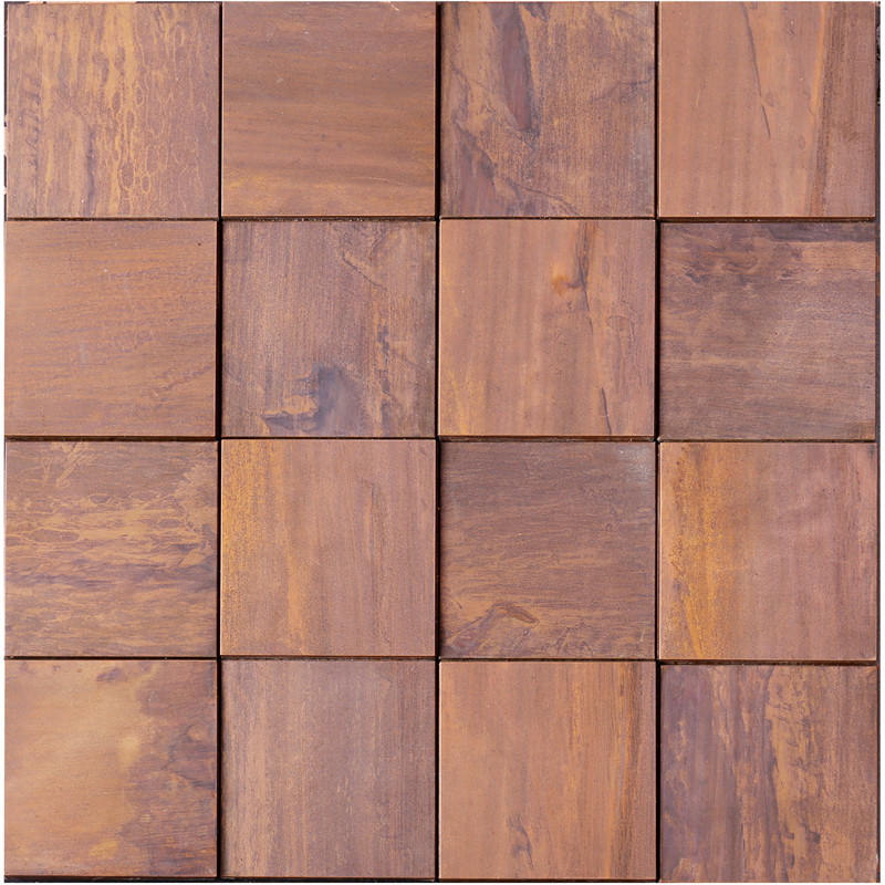 Heng Xing stainless slate mosaic tile series for living room-1