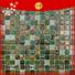Wholesale glass pool tile blue Supply for fountain