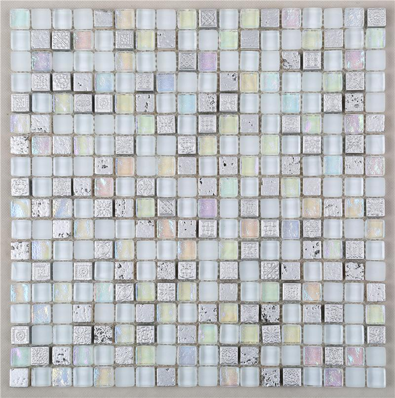 Heng Xing quality glass mosaic tiles Supply for backsplash-1