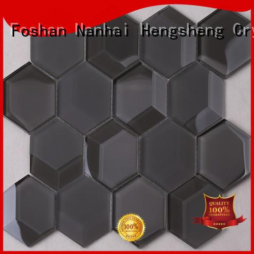Heng Xing metallic wood looking porcelain tile Supply for hotel