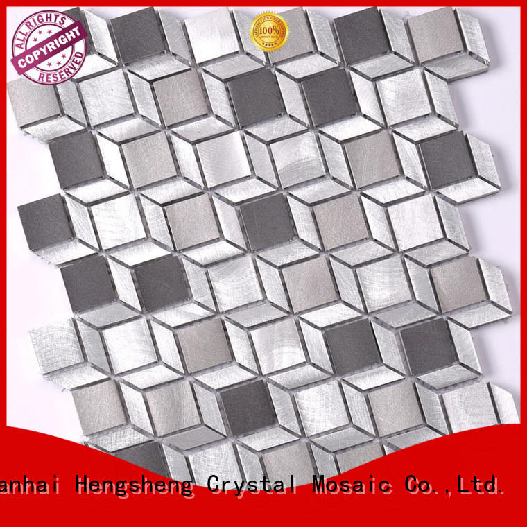 Heng Xing water linear mosaic tile factory for living room