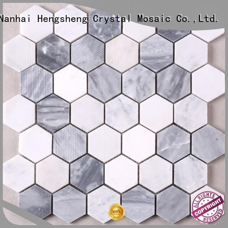 Wholesale pool mosaic tiles Carrara factory for backsplash