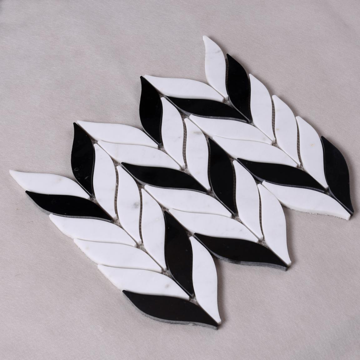 Heng Xing Custom glass stone mosaic manufacturers for bathroom-3