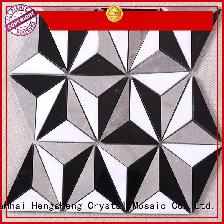 Heng Xing white stone wall tiles factory for bathroom