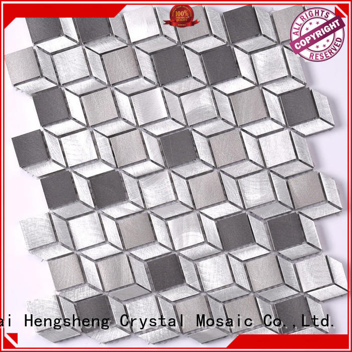New linear mosaic tile aluminum directly sale for villa