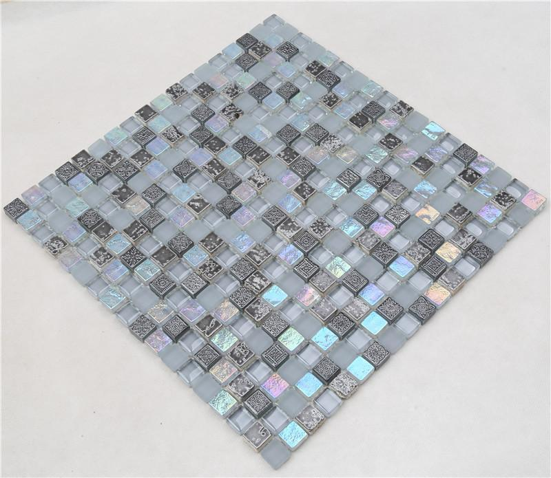 Heng Xing iridescent glass quarter round company for villa-3
