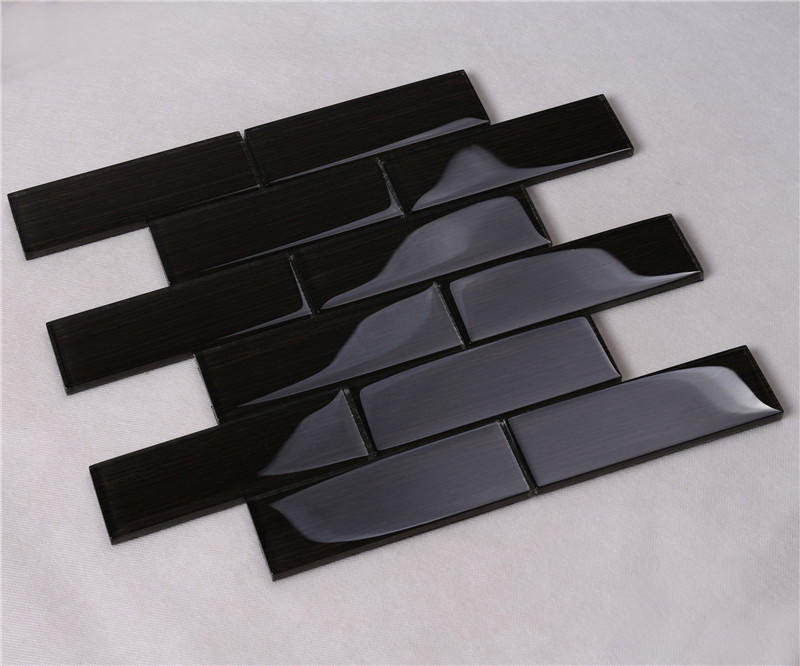 Heng Xing square blue glass tile backsplash factory for hotel-2