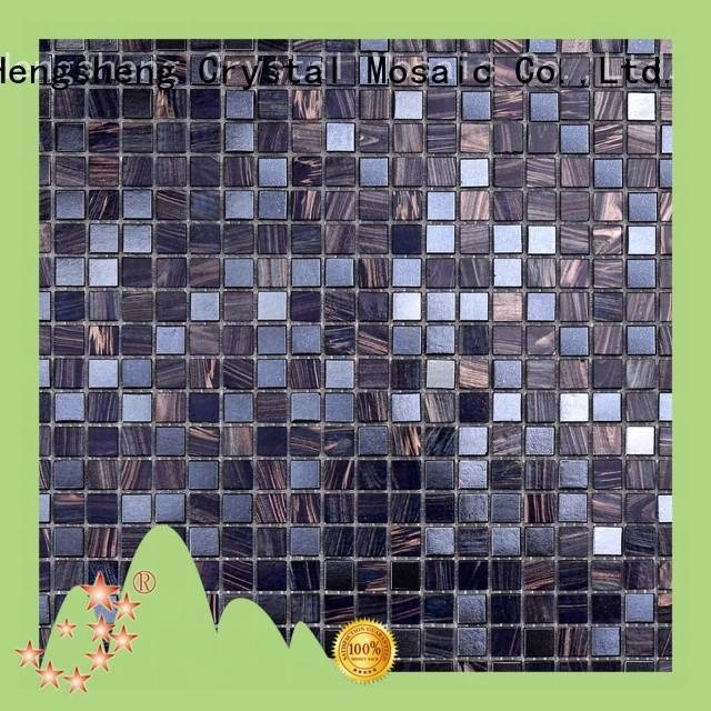 Heng Xing light linear mosaic tile for business for fountain