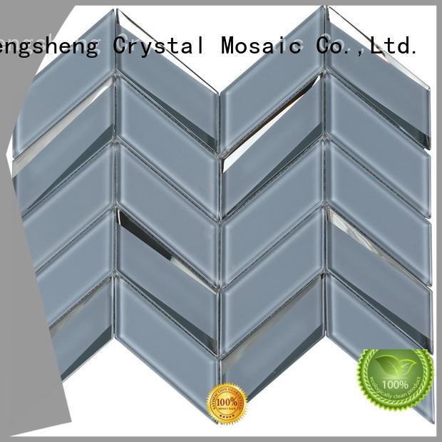 Wholesale 2x8 white subway tile hexagon Supply