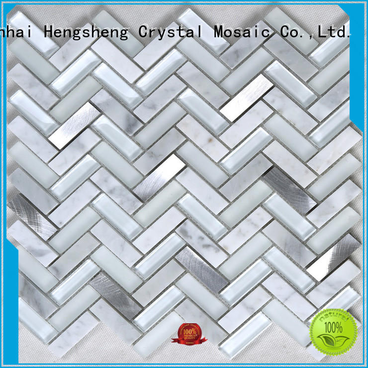 Heng Xing Latest pool mosaic tiles for business for living room
