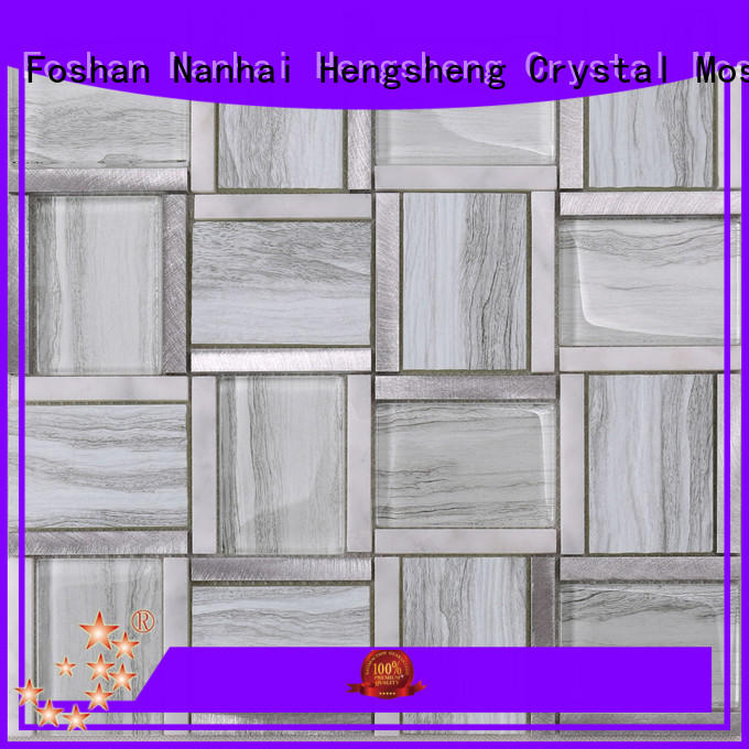 Wholesale frosted glass tile backsplash decoration manufacturers for bathroom
