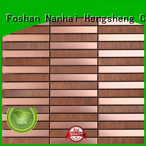 Heng Xing Best metallic kitchen tiles customized for hotel