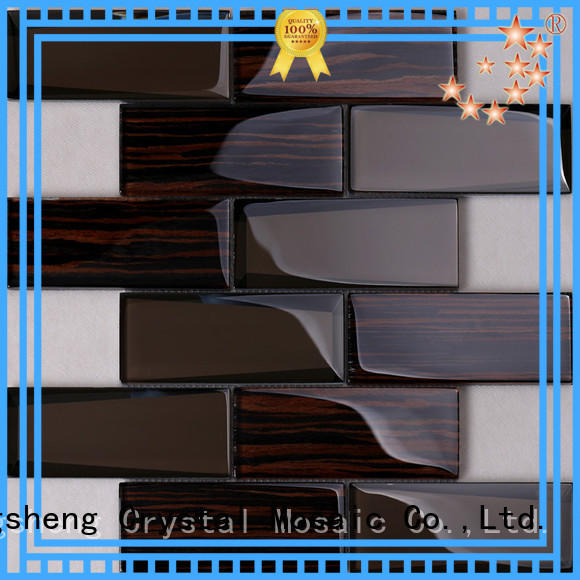 Heng Xing cold red glass tile wholesale for hotel