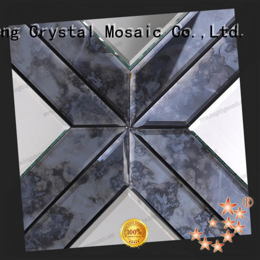 Heng Xing back hexagon marble mosaic manufacturers for living room