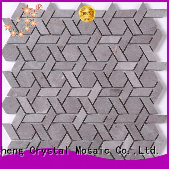 High-quality porcelain mosaic tile Carrara company for backsplash