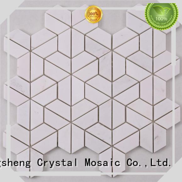 Heng Xing beautiful marble mosaic company for bathroom